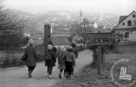MC651206_13: Gabrovka, december 1965, foto: Marjan Ciglič.