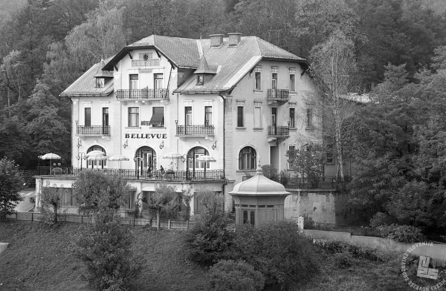 EPT2760_2: Hotel Bellevue, Ljubljana, oktober 1972, foto: Rudi Paškulin.