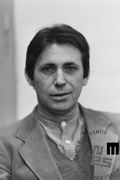 DE5815_1: Marjan Rožanc. Foto: Svetozar Busić, leto 1980.