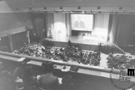 NB966_15a: Svetovni gospodarski forum v Davosu, januar / februar 1991. Foto: Nace Bizilj.