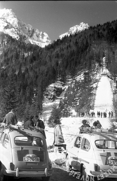 MC660302: Planica, marec 1966. Foto: Marjan Ciglič.