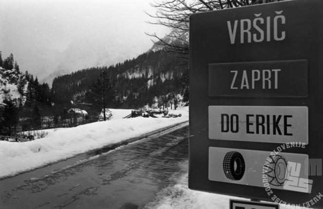 DE7895_11: Snežna podoba Slovenije, 26. april 1979. Foto Miško Kranjec, arhiv časopisne hiše Delo, hrani: MNZS.