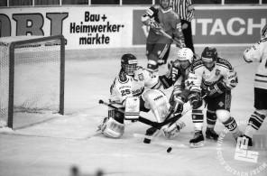 NB9103_184: Svetovno prvenstvo skupine B v hokeju na ledu marec-april 1991. Foto: Nace Bizilj.