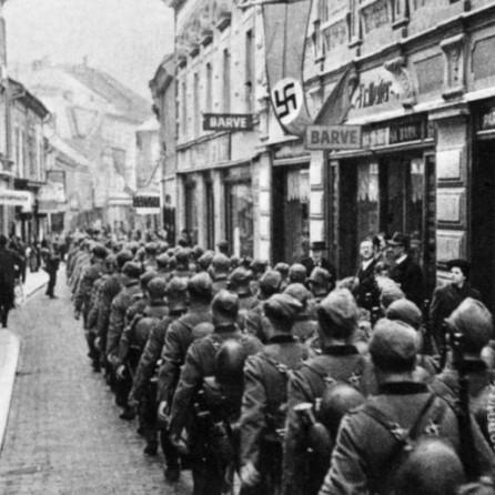 prihod nemških oddelkov v Maribor, 8. april 1941.