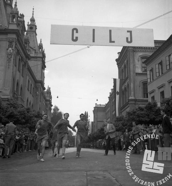 DE2452: Ob žici okupirane Ljubljane. Maj 1959. Foto: Svetozar Busić.