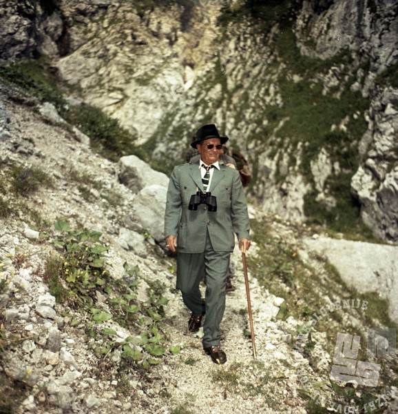 Josip Broz Tito na lovu. Foto: Leon Jere