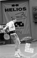 NB9105_14: Andrej Olhovski, finale »Slovenia Open«. 12.5.1991, Domžale. Foto: Nace Bizilj.