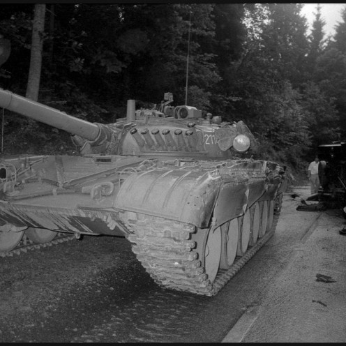 TS911024_31: Okolica Vodic, 27. 6. 1991. Foto: Tone Stojko.