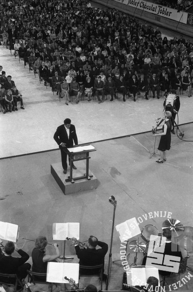 Slovenska popevka 1966. Ljubljana, junij 1966. Foto: Marjan Ciglič.