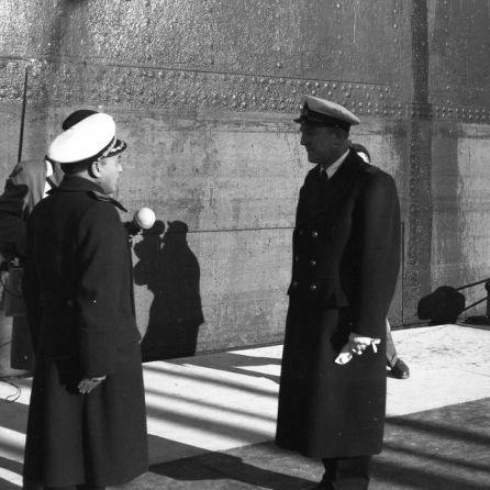 DE1231_16: Otvoritev Luke Koper, 7. december 1958. Foto: Miloš Švabić.