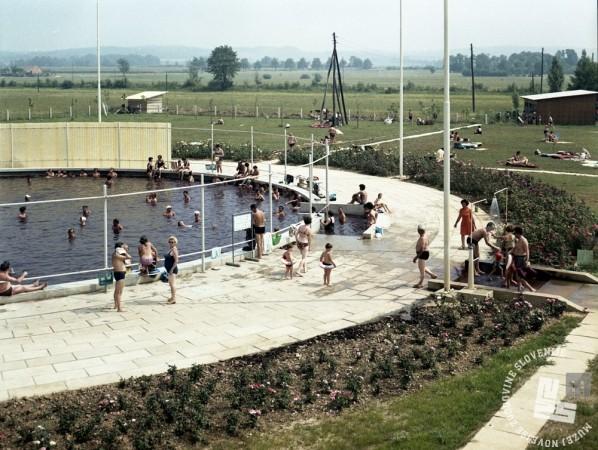 EPC3334_3: Moravske toplice, avgust 1970. Foto: Rudi Paškuliln.