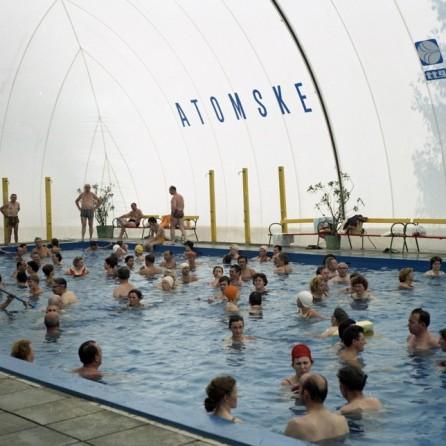 EPC4129_1: Atomske toplice. Podčetrtek, avgust 1973. Foto: Milan Pogačar.