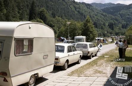 EPC3566: Počitnikovanje na Bledu. Julij 1971. Foto: Rudi Paškulin.