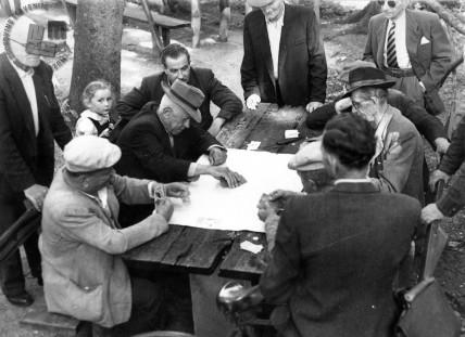 Kvartopirci, 1950. leta. Foto: neznan