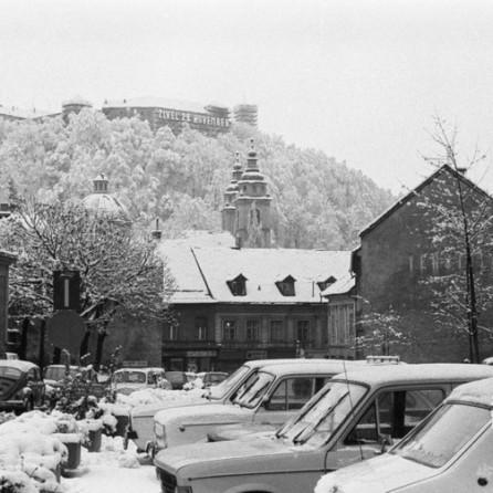 Ljubljana, 29. november 1978. Foto: Marjan Ciglič