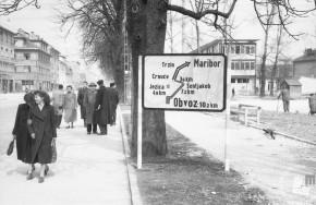 DE8591_7: Ljubljana, leto 1958. Foto: Zlatko Deniša.