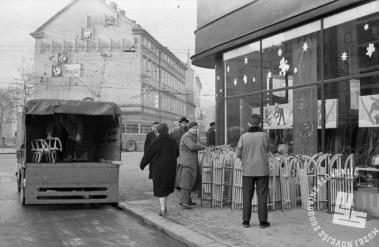 DE1611: Ljubljana, 1959. Foto: neznan,arhiv časopisne hiše Delo.