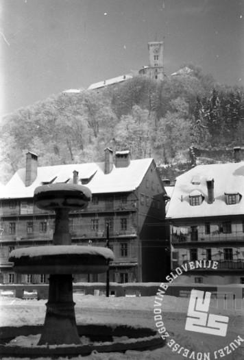 DE8790: Ljubljana, 1960. Foto: Zdenko Deniša, fotoreporter časopisa Delo.