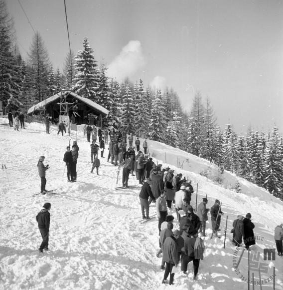 EPT1471: Kranjska Gora, marec 1962. Foto: Janez Lampič.