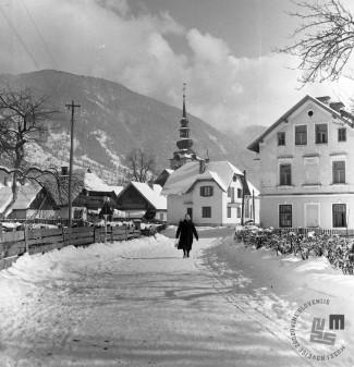 EPT1472: Kranjska Gora, marec 1962. Foto: Joco Čermak.