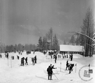 EPT1473: Kranjska Gora, marec 1962. Foto: Joco Čermak.