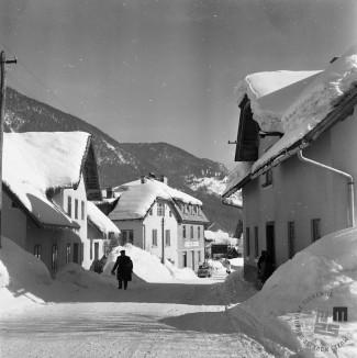 EPT1602: Kranjska Gora, februar 1963. Foto: Joco Čermak.