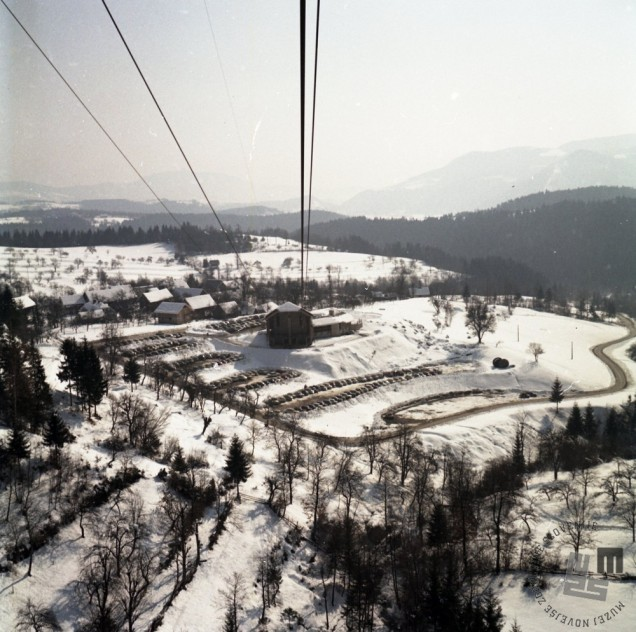EPC3102_6: Smučišče Golte, marec 1970. Foto: Rudi Paškulin.