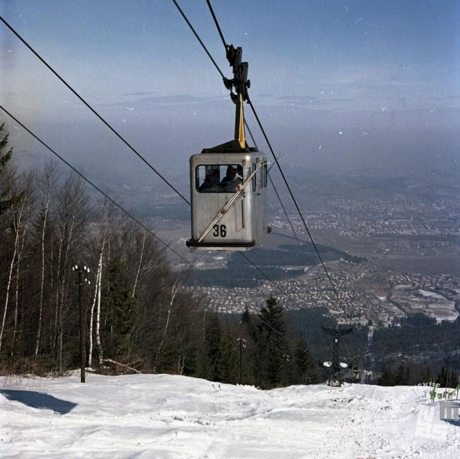 EPC3473_3: Pohorje, marec 1971 . Foto: Rudi Paškulin.