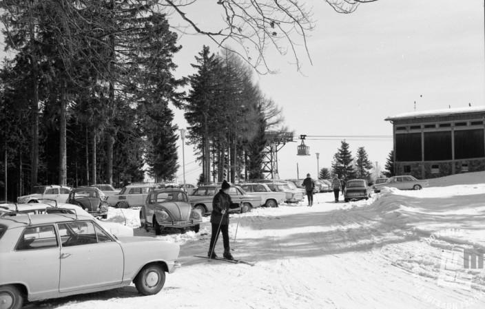 EPT2620_6: Pohorje, marec 1971. Foto: Rudi Paškulin.