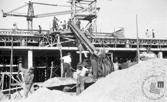FS3507_7: Prvi objekt nove tovarne, 6. oktober 1946. Foto: Viktor Kramar, hrani: MNZS