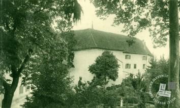 Pogled na samostan s severne strani, leto neznano. Foto: neznan.