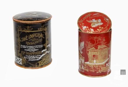Škatlici za kitajski čaj, Hrani MNZS.