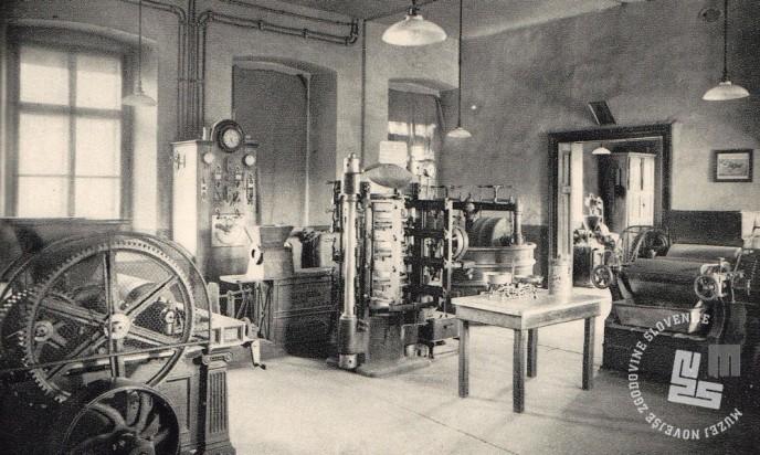 8. Stroji v trapistovski tovarni čokolade. Foto: neznan, hrani: MNZS.