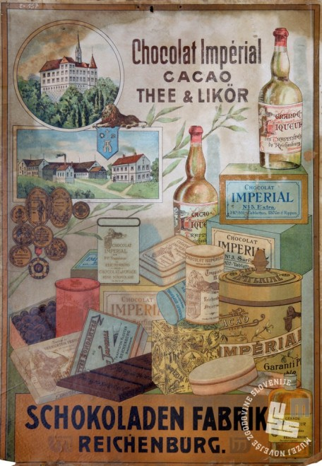 9. Plakat trapistovskih prodajnih produktov,hrani: MNZS.