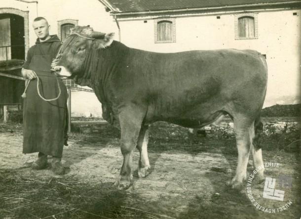 Brat Izidor Kovačič je bil glavni hlevar. Foto: neznan, hrani: MNZS.