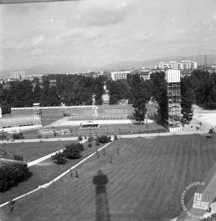 DE2787_1: Ljubljana, julij 1961. Foto: Svetozar Busić, hrani: MNZS.