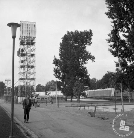 DE2787_7: Ljubljana, julij 1961. Foto: Svetozar Busić, hrani: MNZS.