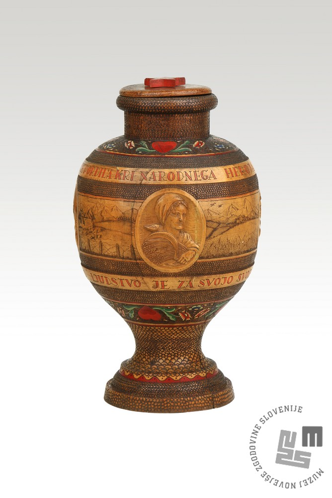 Žara s primorsko zemljo danes. Foto: Muzej novejše zgodovine Slovenije
