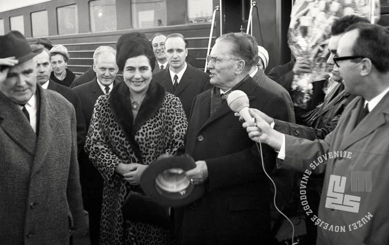 7 FSII2067_152: Sprejem predsednika Josipa Broza – Tita v Luki Koper, Koper, 2. december 1967. Foto: Sašo Bernardi, hrani: MNZS