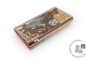 Cigaretna škatla iz zapuščine nadporočnika Frana Spillerja Muysa (Muzej novejše zgodovine Slovenije)