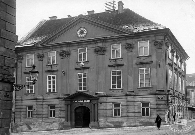 Kmetijska družba v Ljubljani, obdobje med obema svetovnima vojnama  Foto: neznan, arhiv MNZS