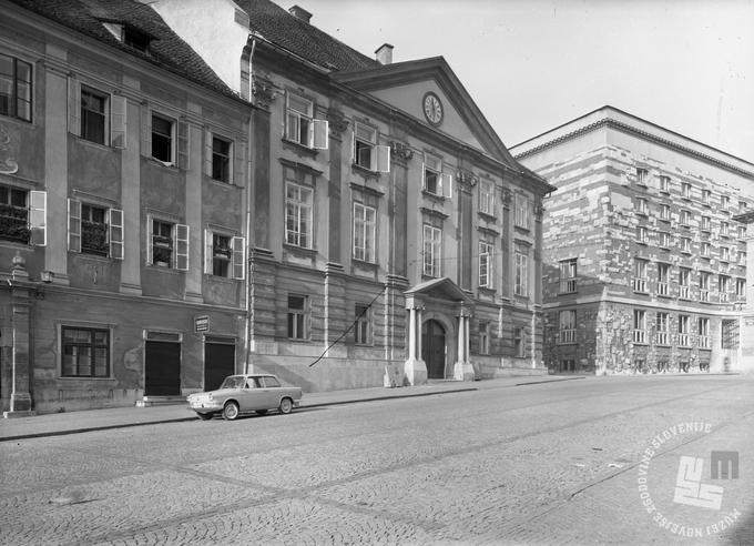 Ljubljana v 50. in 60. letih  Foto: Božo Štajer, hrani MNZS