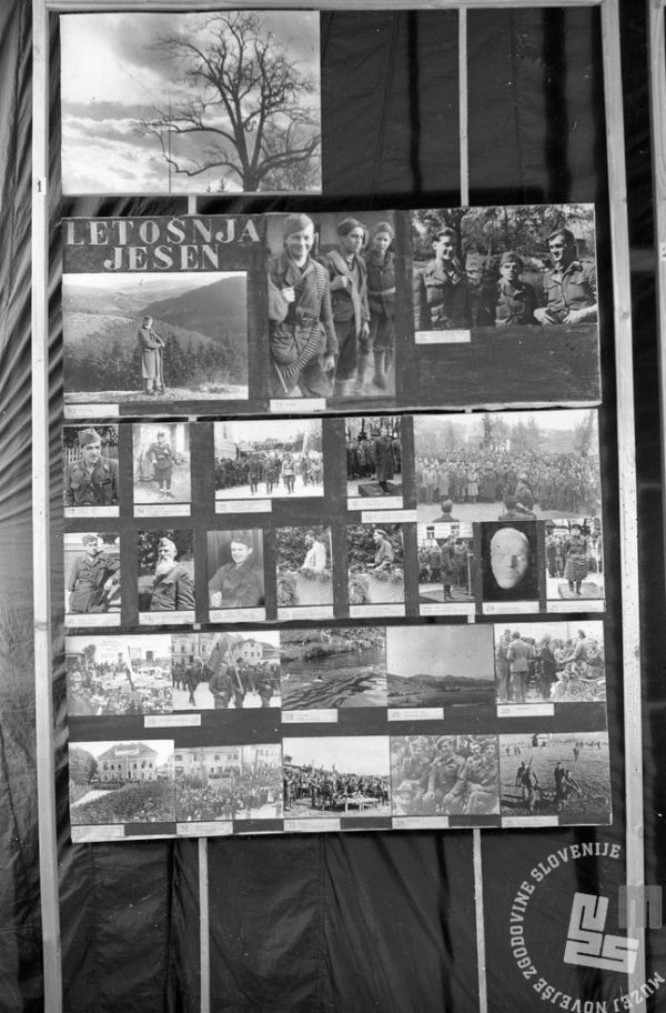 526_1, Fotografska razstava v Črnomlju, 25.-31.12.1944. Foto Jože Bitenc