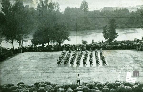 10.b. Proste vaje ─Źlanic na 25. obletnici novome┼íkega Sokola leta 1913