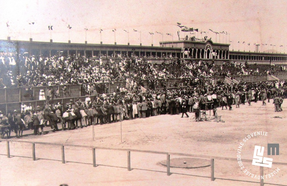 11. Obiskovalci na zletu jugoslovanskih sokolskih zvez v Ljubljani avgusta 1922