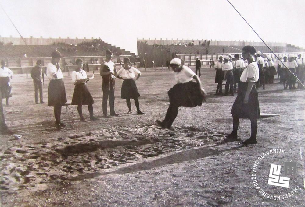 20. Tekmovanje ─Źlanic v skoku v daljino na svetovnem prvenstvu v Ljubljani leta 1922