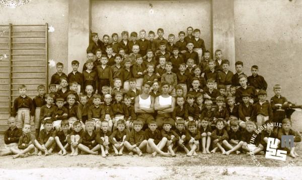 21. Moška deca Ljubljanskega Sokola leta 1932