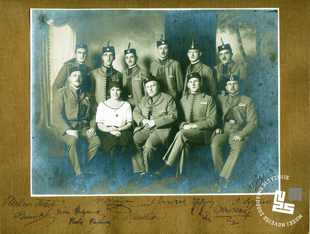 25. Staroste Ljubljanskega Sokola okrog leta 1920