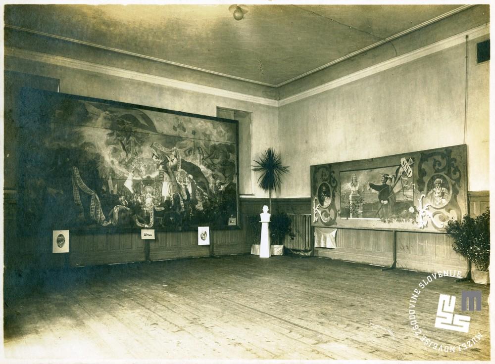 30.Sokolska razstava v Narodnem domu v Ljubljani ob veliki prireditvi leta 1922