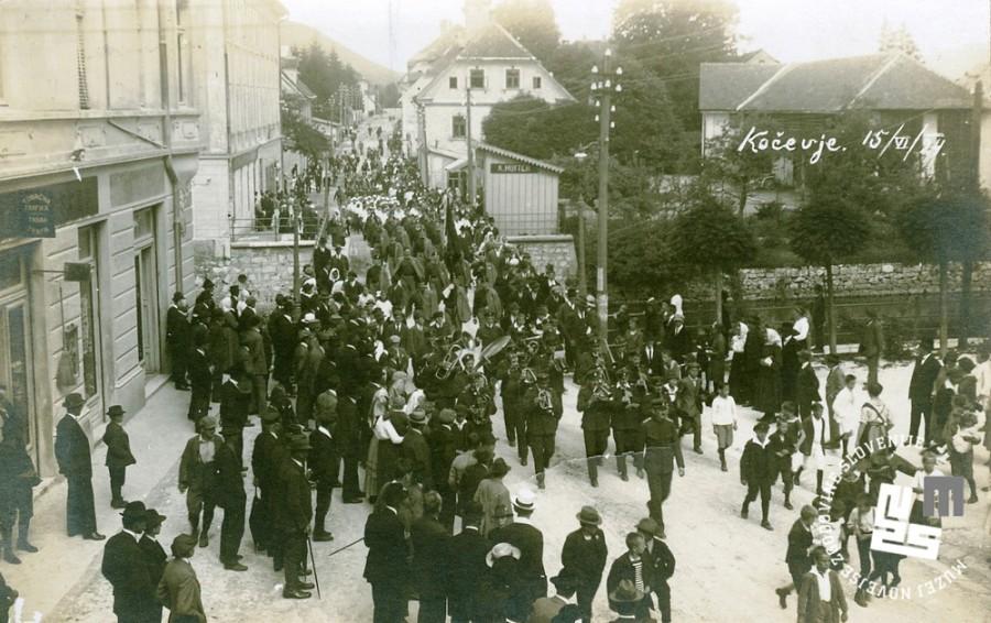 4. Shod Sokolov v Ko─Źevju 15. junija 1924